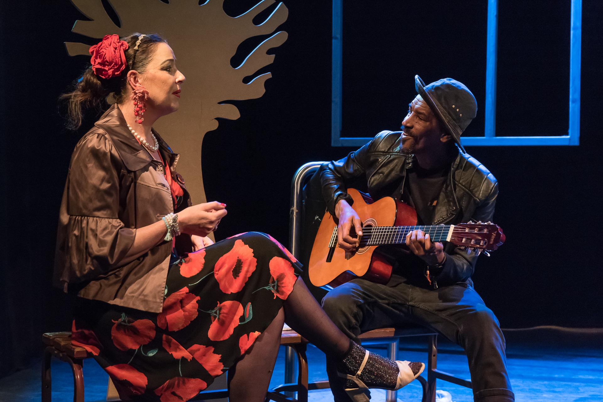 Theaterproject Wendy Hoogendijk en Eva Kruijs